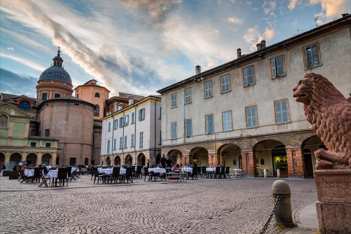 La Piazza San Prospero - Lugarex - Reggio nell'Emilia (RE)