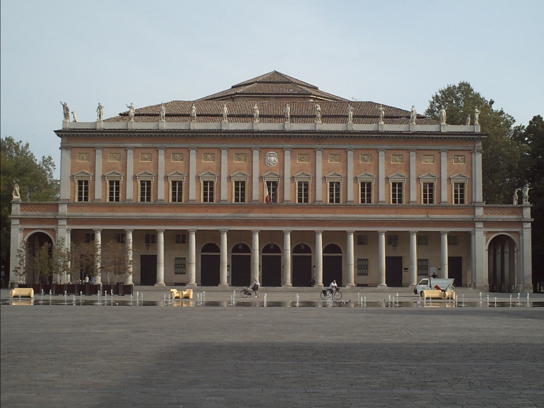 Facciata teatro valli - Manuel.frassinetti - Reggio nell'Emilia (RE)
