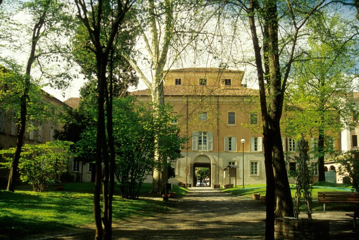 Palazzo Sartoretti e parco in primavera - Claudio Magnani - Reggiolo (RE)