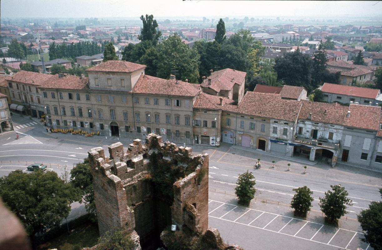 Veduta dal mastio della Rocca medievale - Rossreggiolo - Reggiolo (RE)