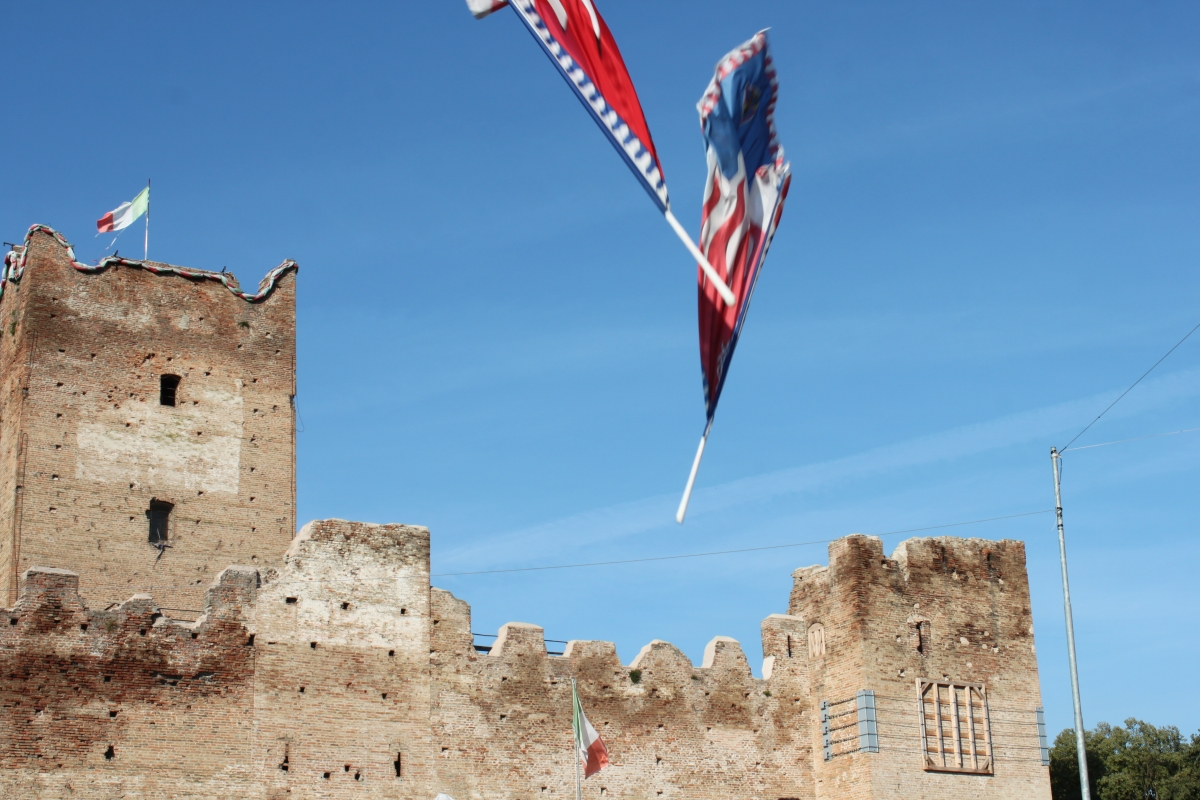 La Rocca Medievale durante la Festa della Zucca 2014 - Alebassoli - Reggiolo (RE)