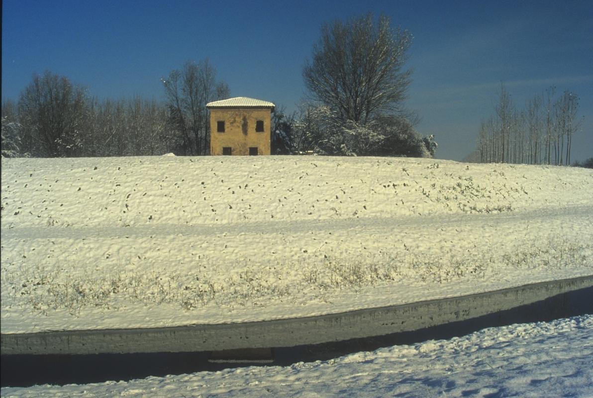 Inverno sulla Chiavica Vecchia (Cà Dal Vigliach) - Claudio Magnani - Reggiolo (RE)