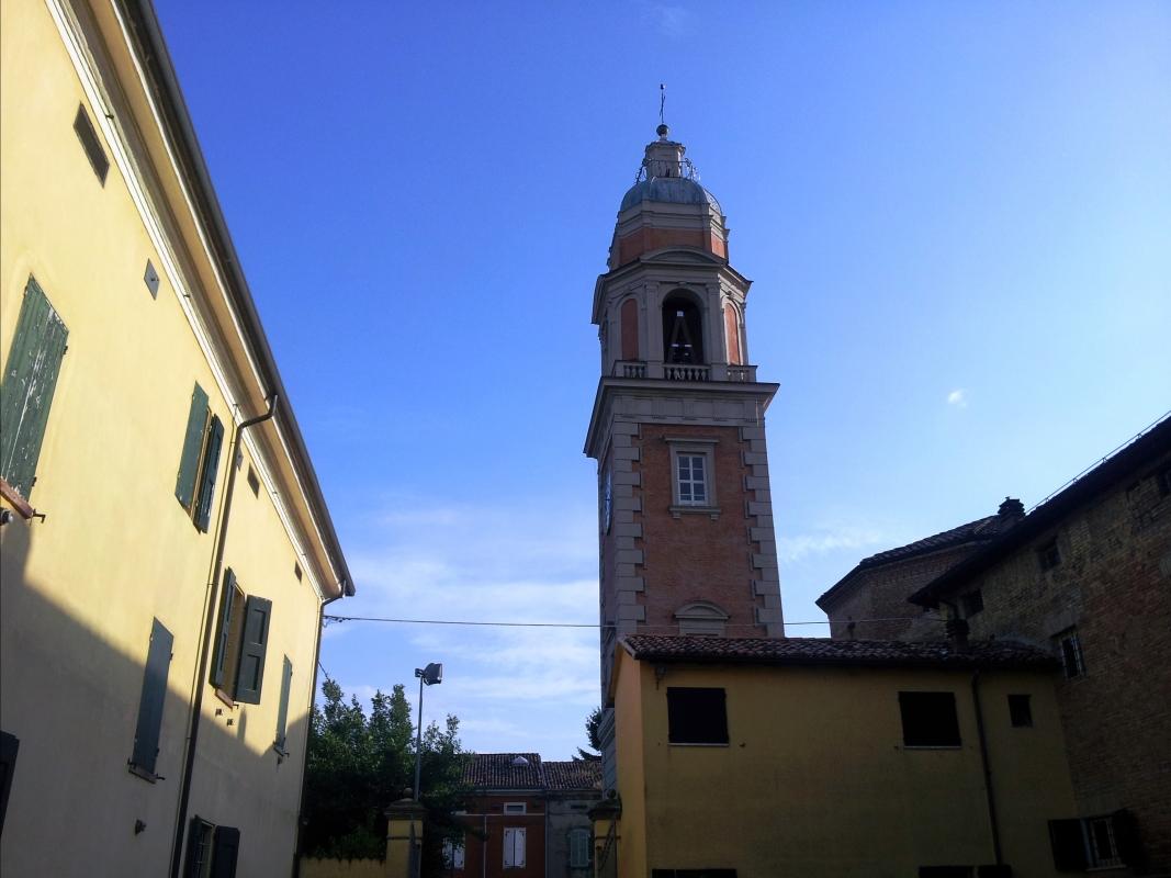 Torre Civica Rolo lato nord - Faustovezzani - Rolo (RE)