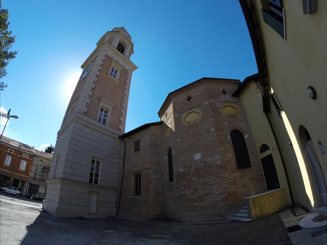 Rolo, Torre Civica e Sagrestia - Faustovezzani - Rolo (RE)