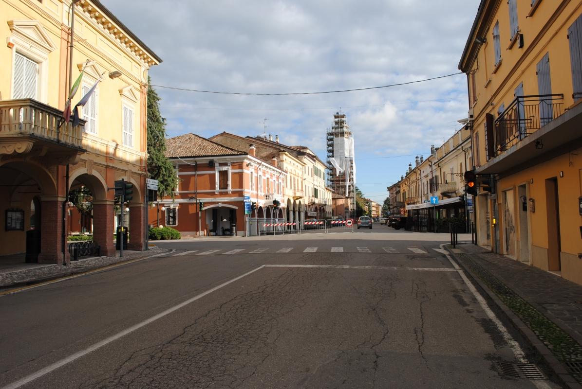 Corso Repubblica spopolato - Faustovezzani - Rolo (RE)