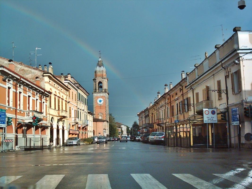 Corso Repubblica arcobaleno - Faustovezzani - Rolo (RE)