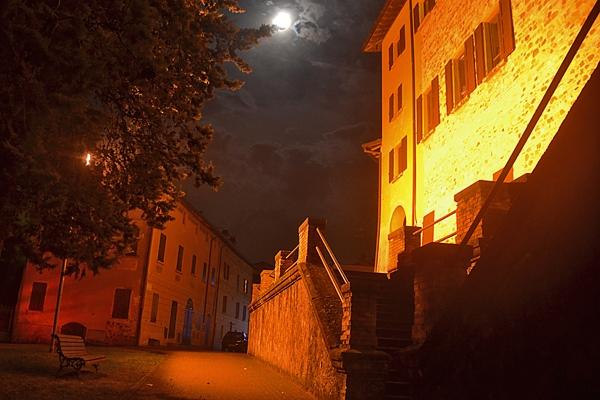 Notte sul castello - Isaeugeniazeta - San Polo d'Enza (RE)
