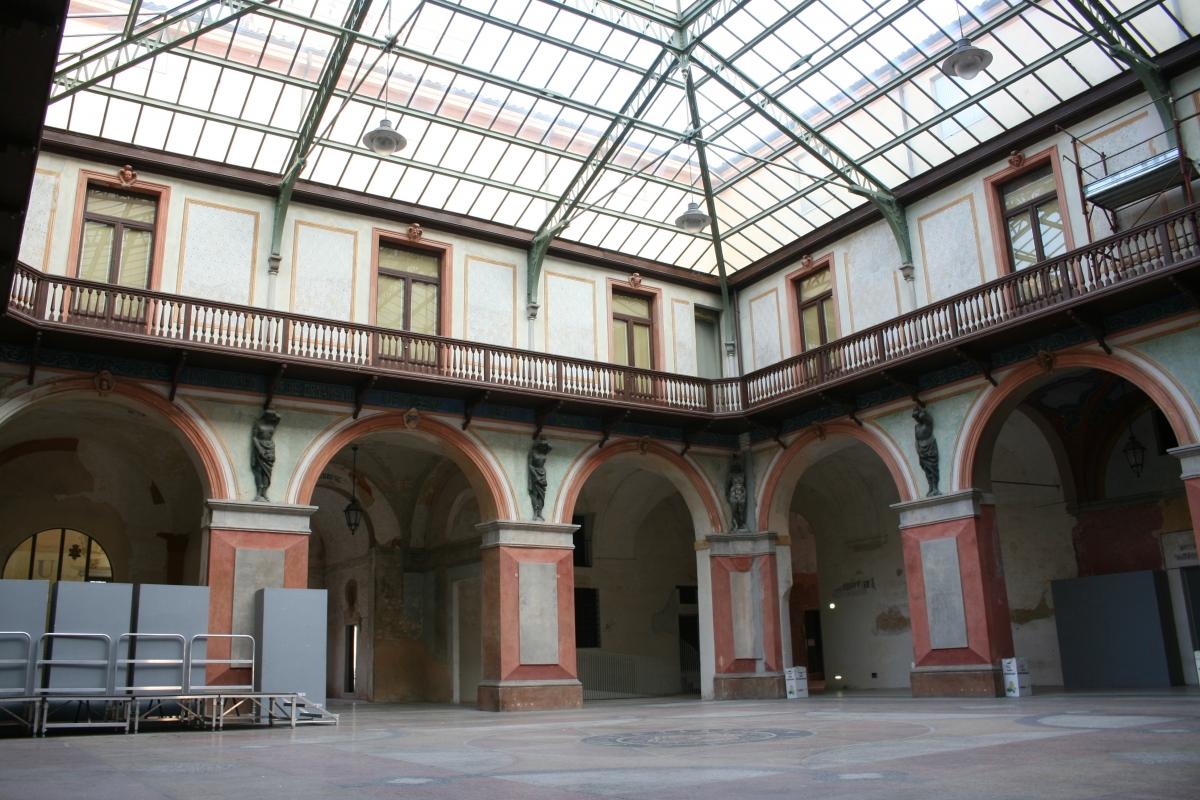 Cielo sopra palazzo - Elesorez - Guastalla (RE)