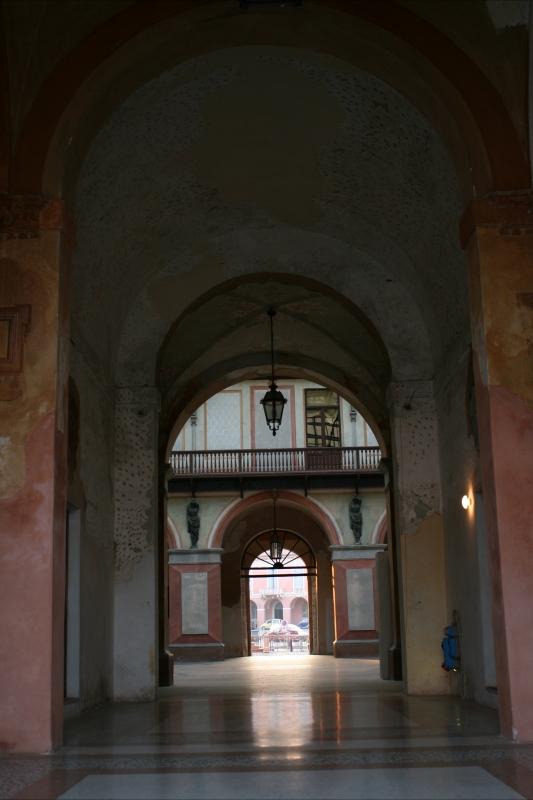Veduta interna palazzo ducale - Elesorez - Guastalla (RE)