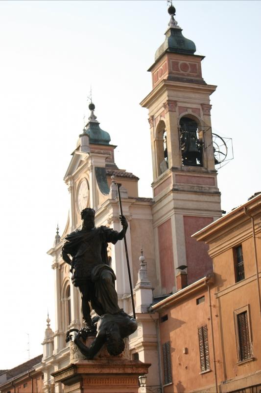 Statua ferrante gonzaga - Elesorez - Guastalla (RE)