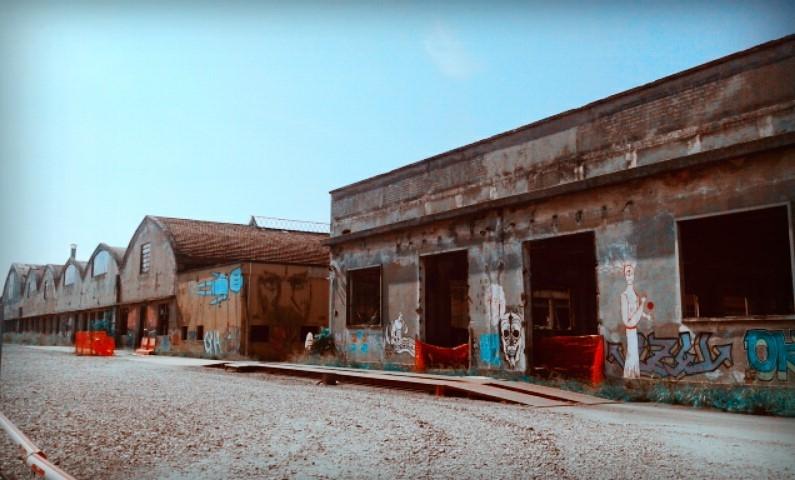 Ex Reggiane lato Campovolo - Ceci.melani - Reggio nell'Emilia (RE)