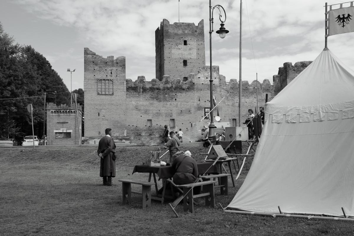 Rocca Medievale e accampamento di artigiani - Lasagni stefano - Reggiolo (RE)