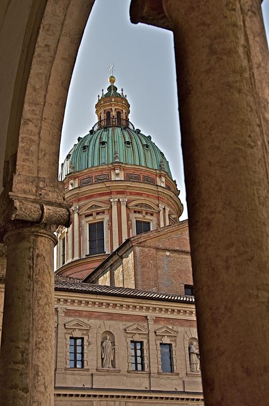 Suggestiva veduta della cupola - Caba2011 - Reggio nell'Emilia (RE)