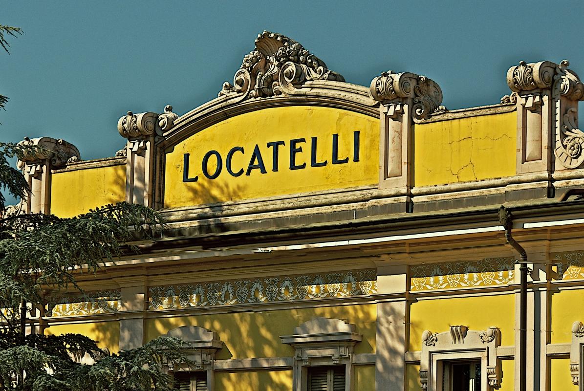 Particolare facciata in Stile Liberty - Caba2011 - Reggio nell'Emilia (RE)