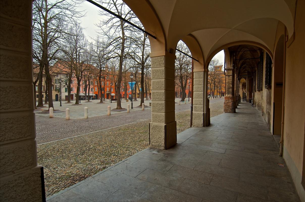 Piazza Fontanesi Antonio - Caba2011 - Reggio nell'Emilia (RE)