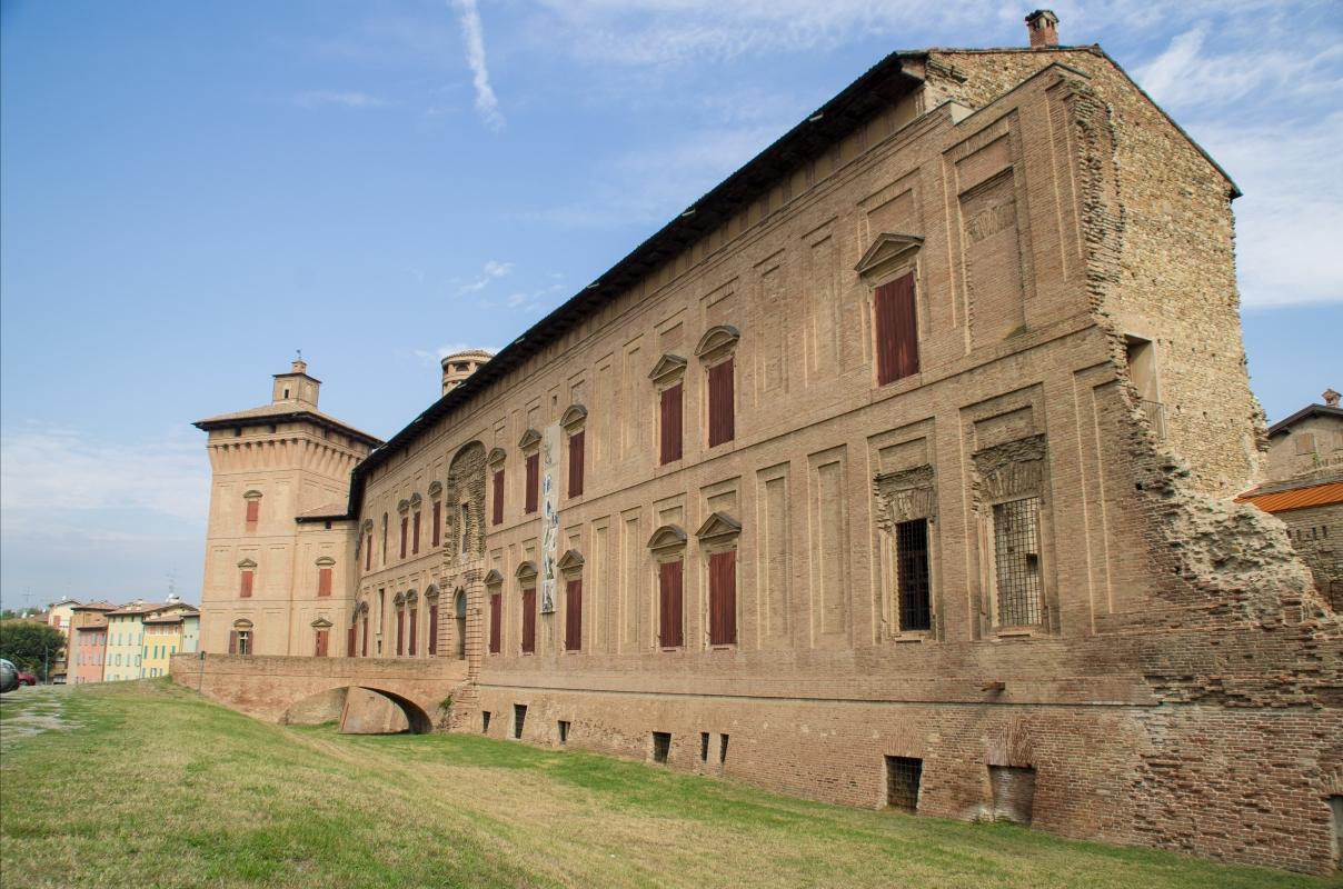 Rocca dei Boiardo-facciata principale2 - Arianna Perez - Scandiano (RE)