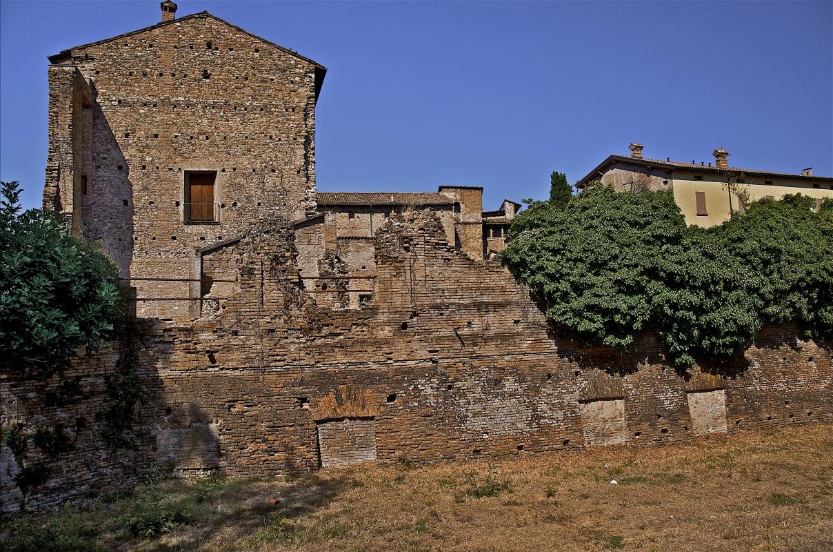 Zona ruderi all'estremità della Rocca - Caba2011 - Scandiano (RE)