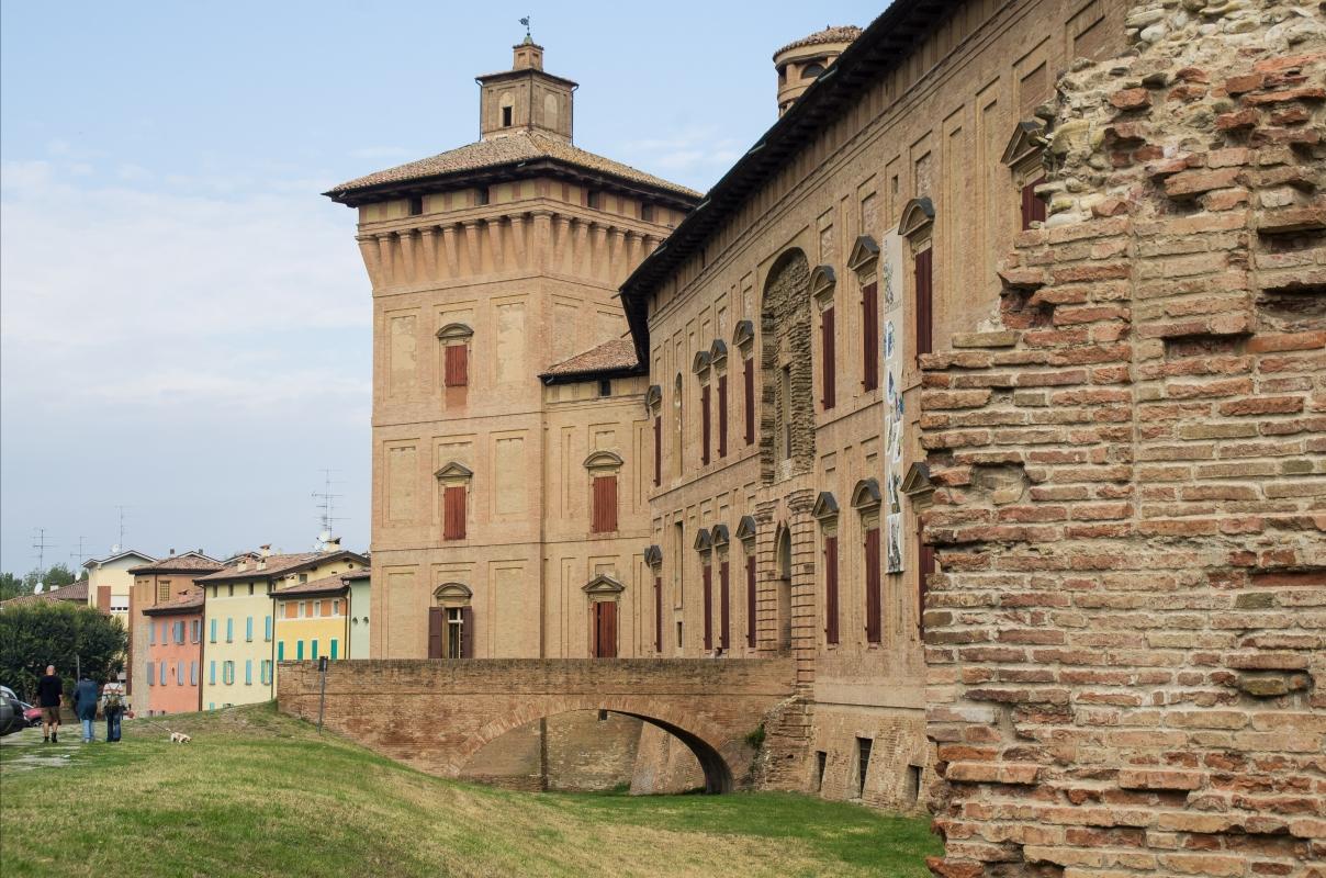 Rocca dei Boiardo-facciata principale - Arianna Perez - Scandiano (RE)