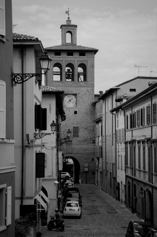 Torre dell'orologio, Scandiano - Arianna Perez - Scandiano (RE)