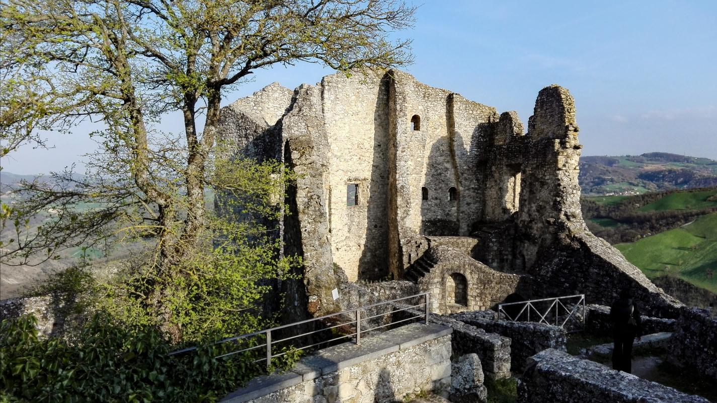 Ruderi del castello di Canossa - Eulalia Palmieri - Canossa (RE)