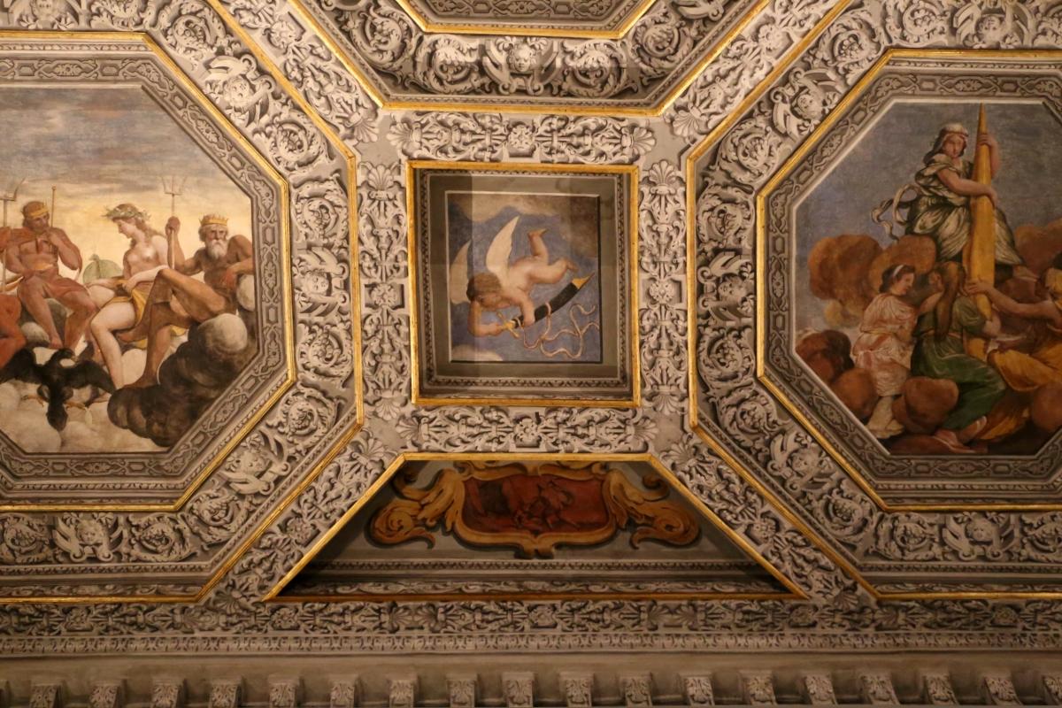 Sisto badalocchio e altri, soffitto della sala di giove, 1603, 10 - Sailko - Gualtieri (RE)