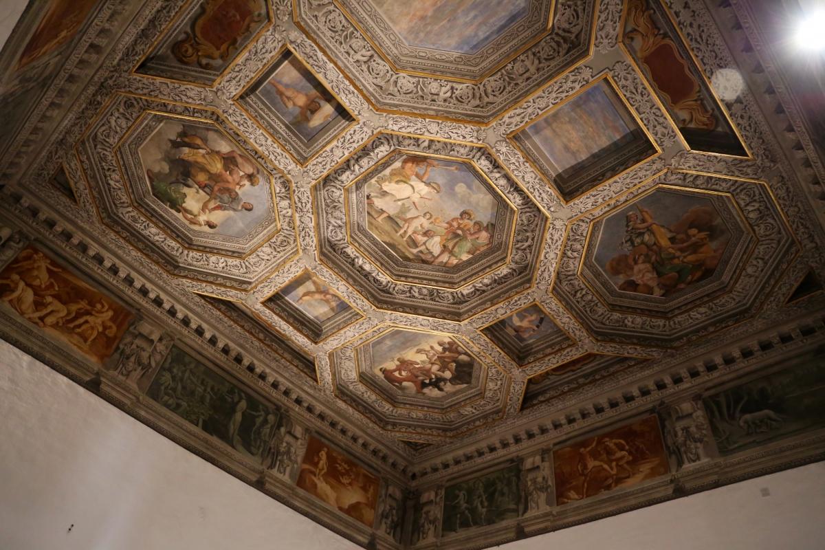 Sisto badalocchio e altri, soffitto della sala di giove, 1603, 01 - Sailko - Gualtieri (RE)