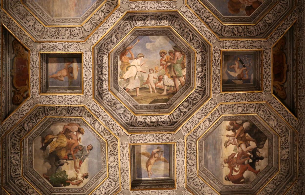 Sisto badalocchio e altri, soffitto della sala di giove, 1603, 04 - Sailko - Gualtieri (RE)