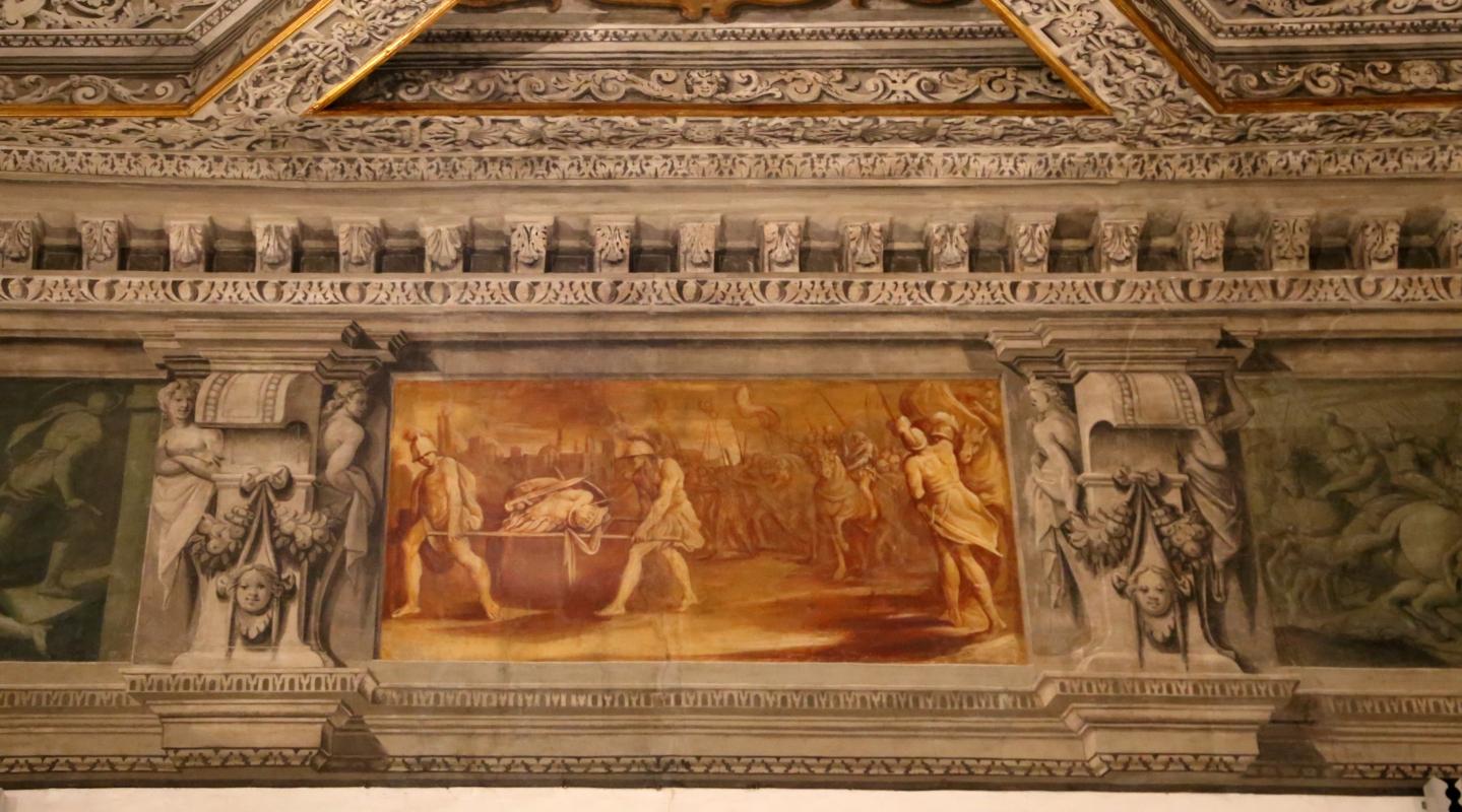 Gualtieri, palazzo bentivoglio, sala di giove, fregio con storie di roma da tito livio, 1600-05 circa, 08 - Sailko - Gualtieri (RE)