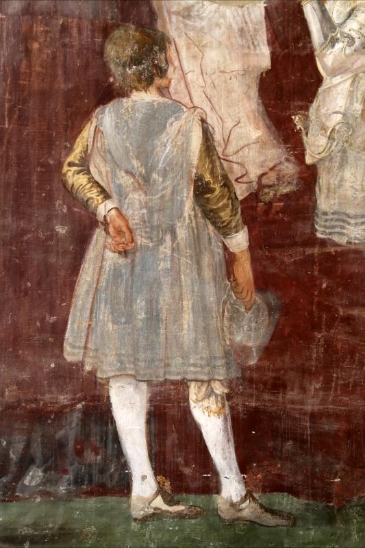 Giovanni da san giovanni (e ippolito provenzale), fasti bentivoglio, Investitura di Cornelio Bentivoglio a generalissimo di Gregorio XIII, 1628, 09,2 - Sailko - Gualtieri (RE)