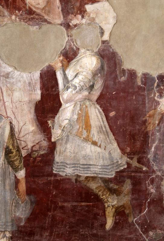 Giovanni da san giovanni (e ippolito provenzale), fasti bentivoglio, Investitura di Cornelio Bentivoglio a generalissimo di Gregorio XIII, 1628, 07,2 - Sailko - Gualtieri (RE)