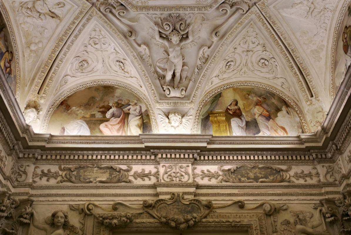 Gualtieri, palazzo bentivoglio, cappella, storie della vergine di scuola emiliana del 1605, 03 - Sailko - Gualtieri (RE)