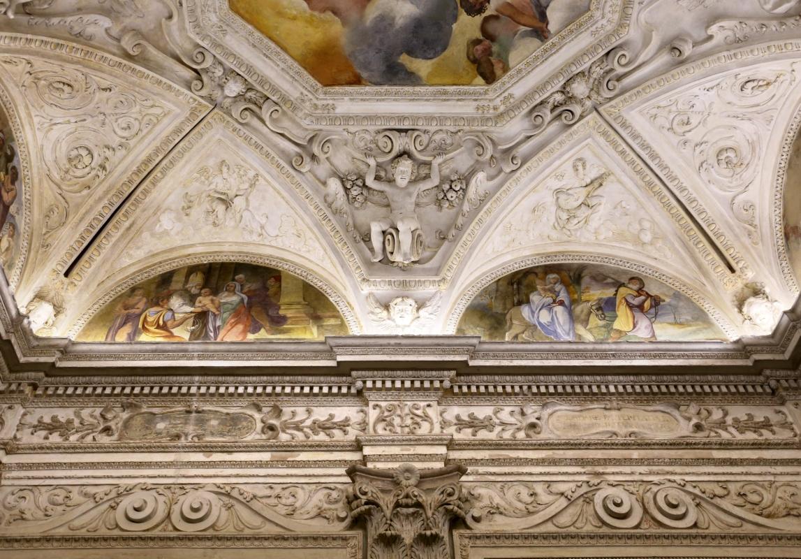 Gualtieri, palazzo bentivoglio, cappella, storie della vergine di scuola emiliana del 1605, 04 - Sailko - Gualtieri (RE)