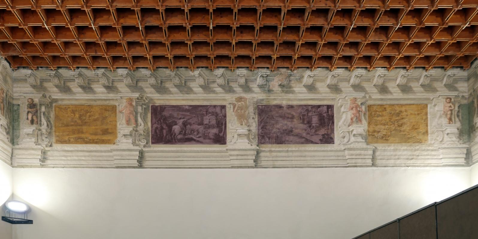 Gualtieri, palazzo bentivoglio, sala di enea, inizio del xvii secolo 02 - Sailko - Gualtieri (RE)