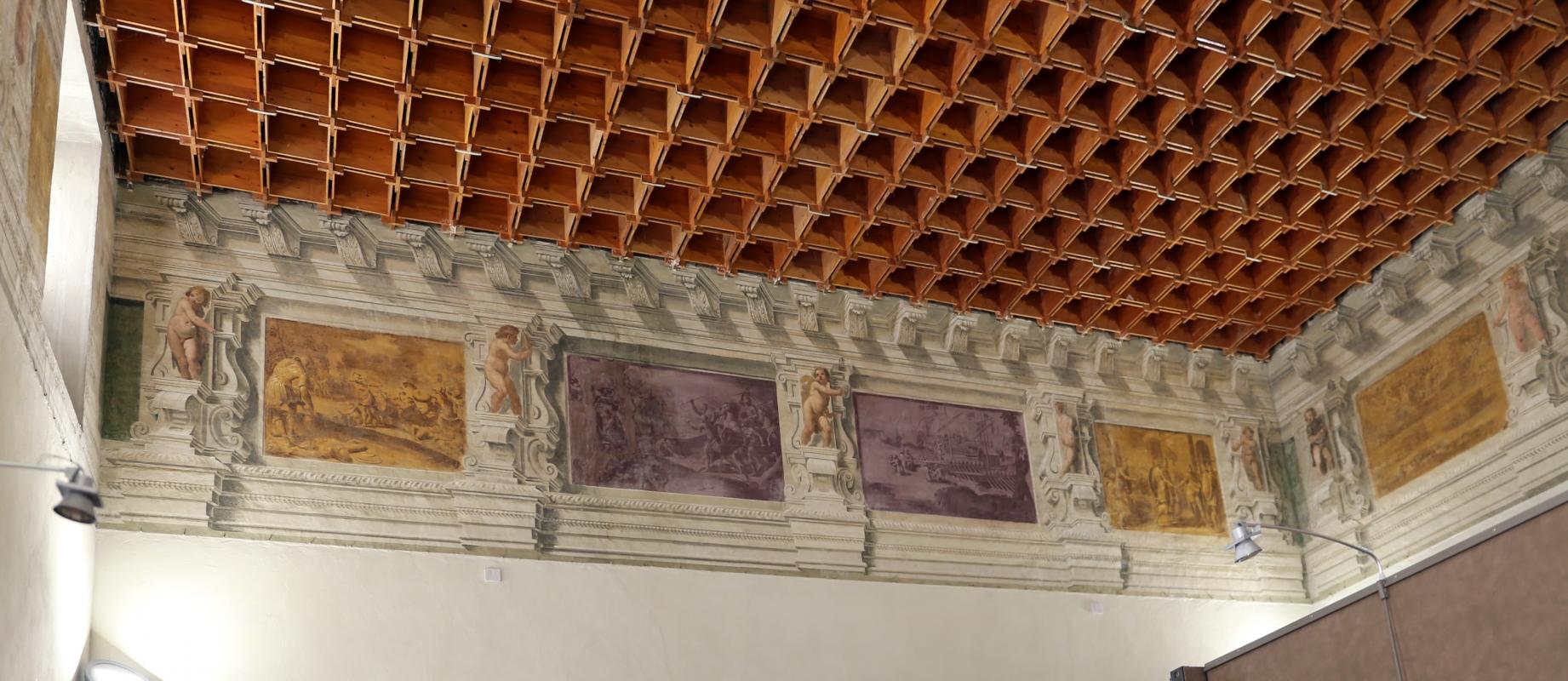 Gualtieri, palazzo bentivoglio, sala di enea, inizio del xvii secolo 03 - Sailko - Gualtieri (RE)
