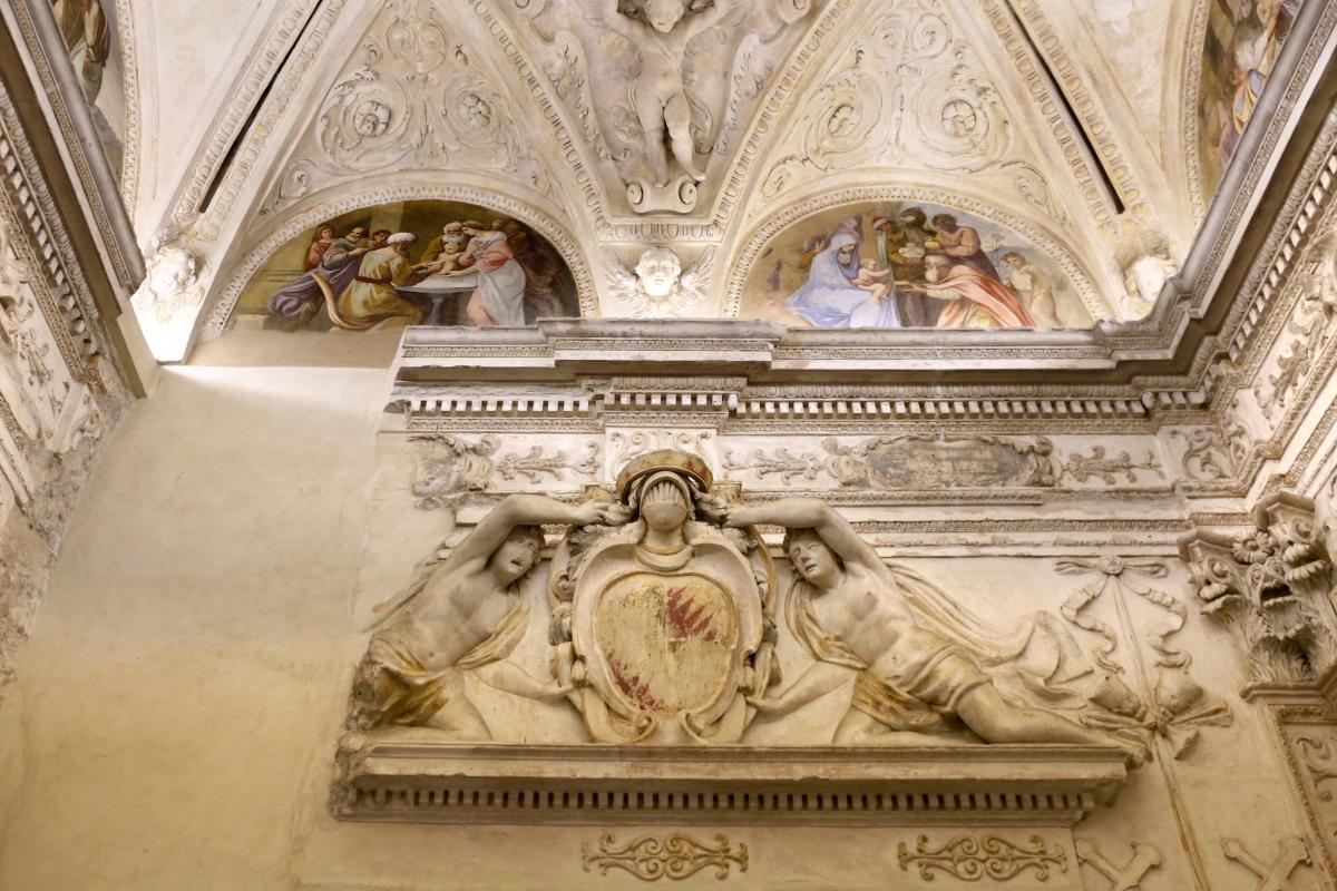 Gualtieri, palazzo bentivoglio, cappella, storie della vergine di scuola emiliana del 1605, 05 - Sailko - Gualtieri (RE)