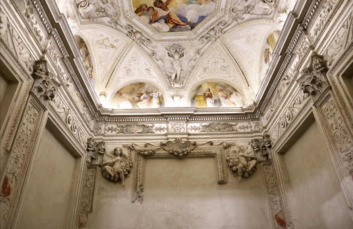 Gualtieri, palazzo bentivoglio, cappella, storie della vergine di scuola emiliana del 1605, 02 - Sailko - Gualtieri (RE)