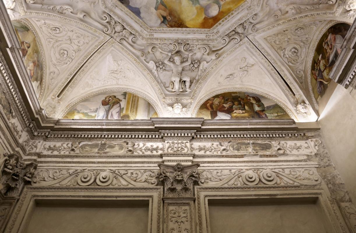 Gualtieri, palazzo bentivoglio, cappella, storie della vergine di scuola emiliana del 1605, 06 - Sailko - Gualtieri (RE)