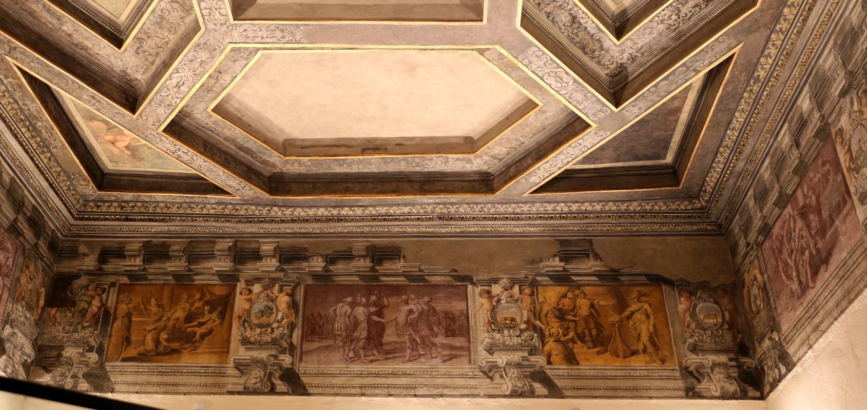 Gualtieri, palazzo bentivoglio, sala di icaro, fregio con storie di roma da tito livio, 1600-05 circa, 01 - Sailko - Gualtieri (RE)