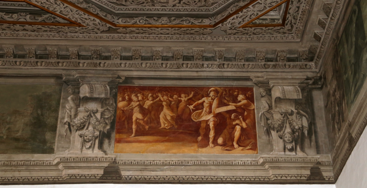 Gualtieri, palazzo bentivoglio, sala di giove, fregio con storie di roma da tito livio, 1600-05 circa, 10 - Sailko - Gualtieri (RE)