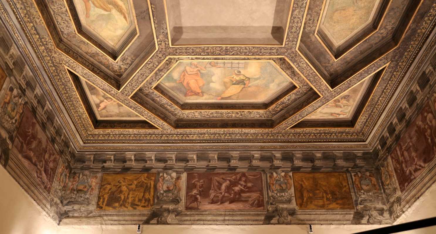 Gualtieri, palazzo bentivoglio, sala di icaro, fregio con storie di roma da tito livio, 1600-05 circa, 03 - Sailko - Gualtieri (RE)