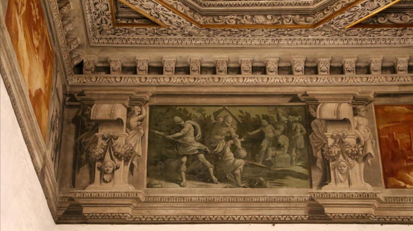 Gualtieri, palazzo bentivoglio, sala di giove, fregio con storie di roma da tito livio, 1600-05 circa, 03 - Sailko - Gualtieri (RE)