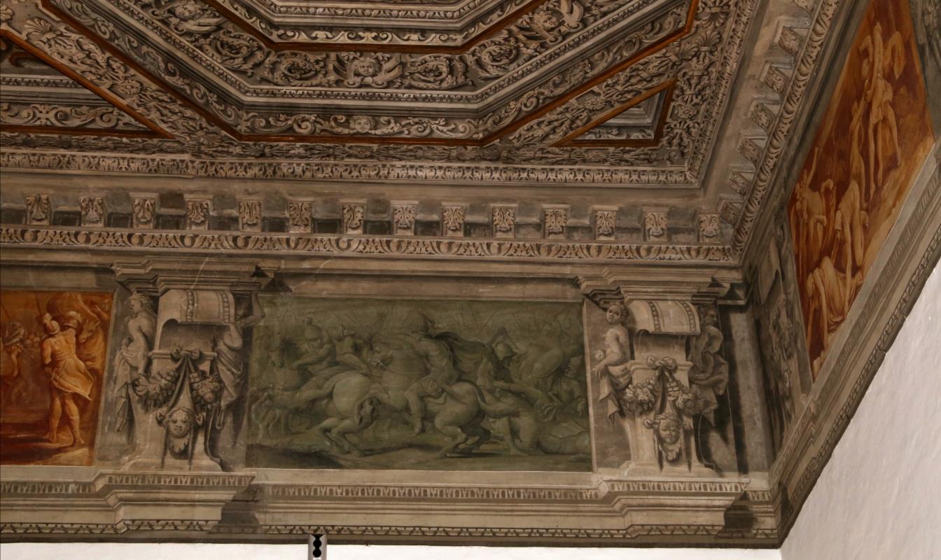 Gualtieri, palazzo bentivoglio, sala di giove, fregio con storie di roma da tito livio, 1600-05 circa, 07,2 - Sailko - Gualtieri (RE)