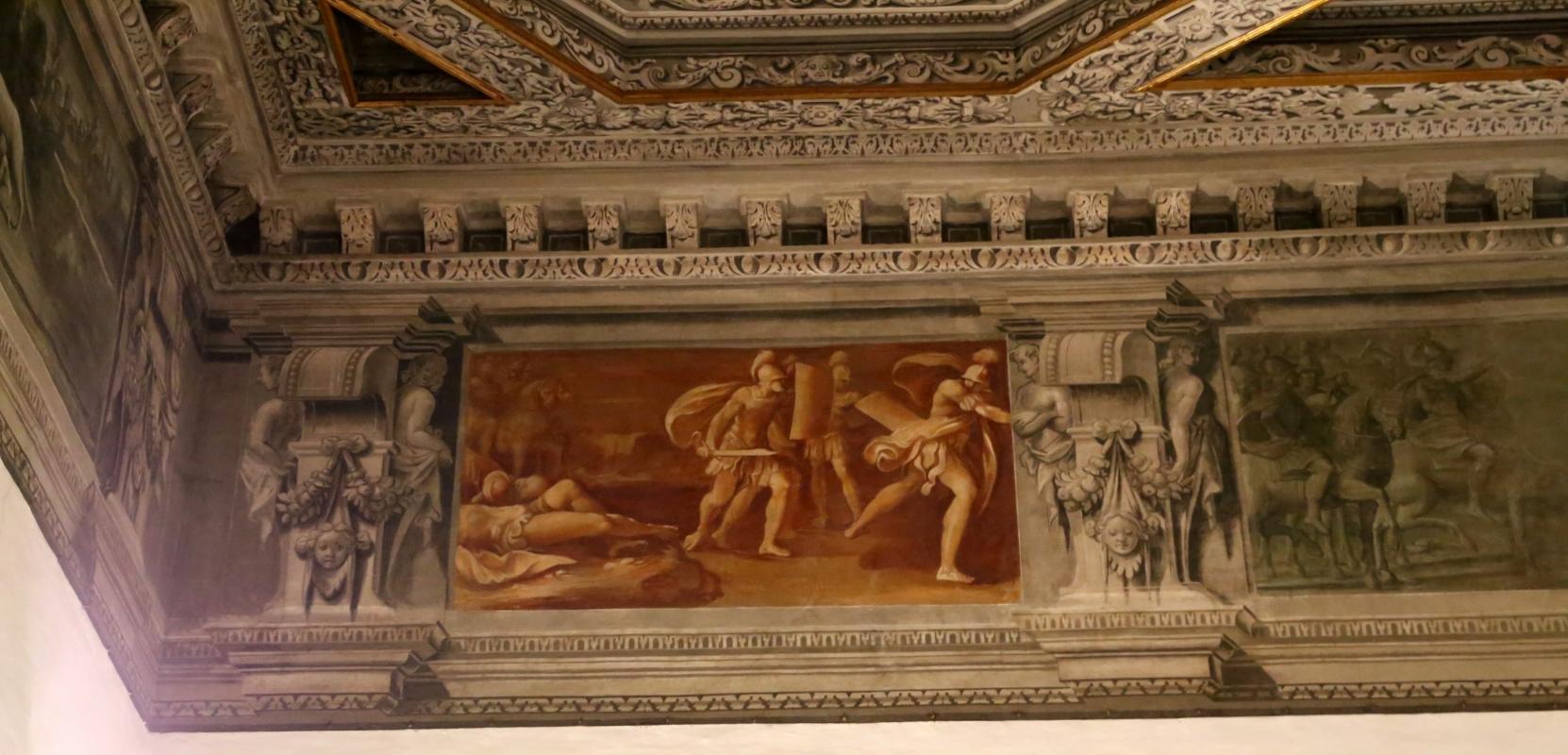 Gualtieri, palazzo bentivoglio, sala di giove, fregio con storie di roma da tito livio, 1600-05 circa, 12 - Sailko - Gualtieri (RE)