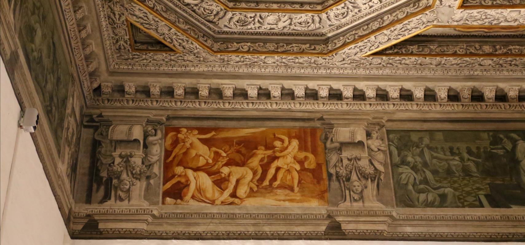 Gualtieri, palazzo bentivoglio, sala di giove, fregio con storie di roma da tito livio, 1600-05 circa, 06 ratto delle sabine - Sailko - Gualtieri (RE)