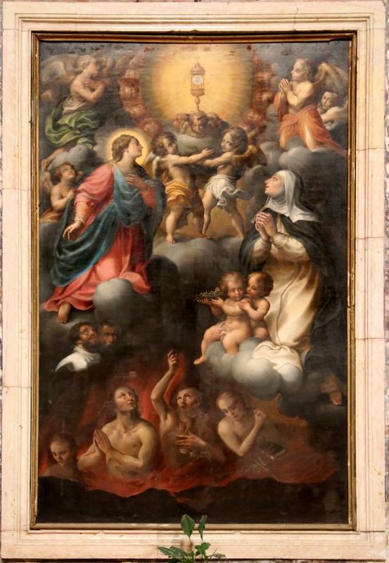 Scuola emiliana, adorazione del ss. sacramento e anime purganti 01 - Sailko - Gualtieri (RE)