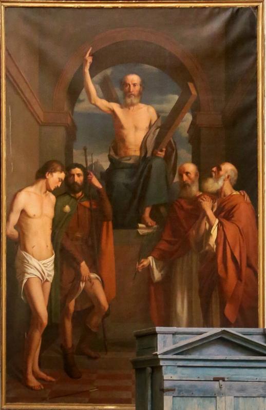 Carlo zatti, sant'andrea tra santi, 1844 - Sailko - Gualtieri (RE)