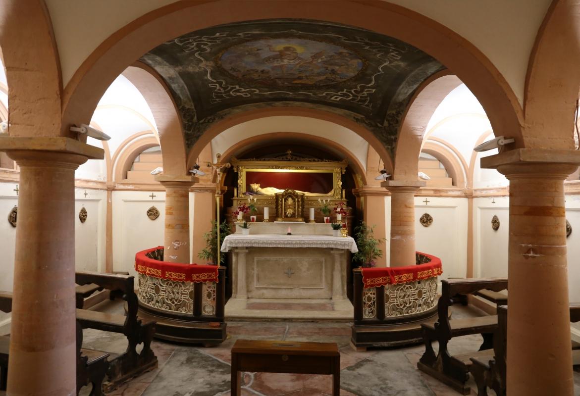 Gualtieri, collegiata della madonna della neve, interno, cripta 02 - Sailko - Gualtieri (RE)