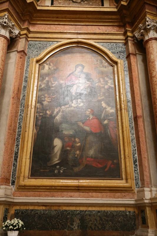 Scuola parmense, madonna del rosario, xvi secolo 01 - Sailko - Gualtieri (RE)