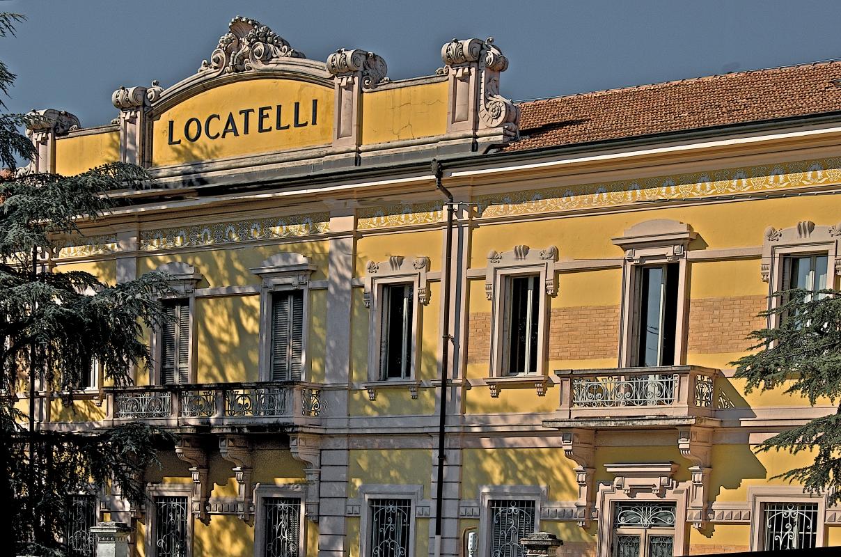 """Facciata anteriore ex stabilimento """"Locatelli"""" - Caba2011 - Reggio nell'Emilia (RE)"""