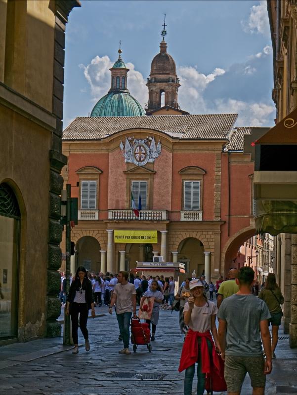 Palazzo comunale sede amministrativa della città - Caba2011 - Reggio nell'Emilia (RE)